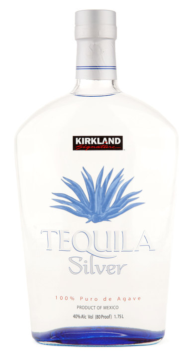 Bottle of Kirkland Signature Silver