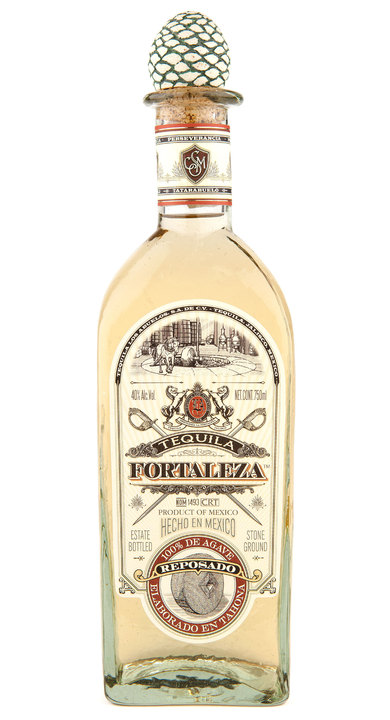 Bottle of Fortaleza Reposado