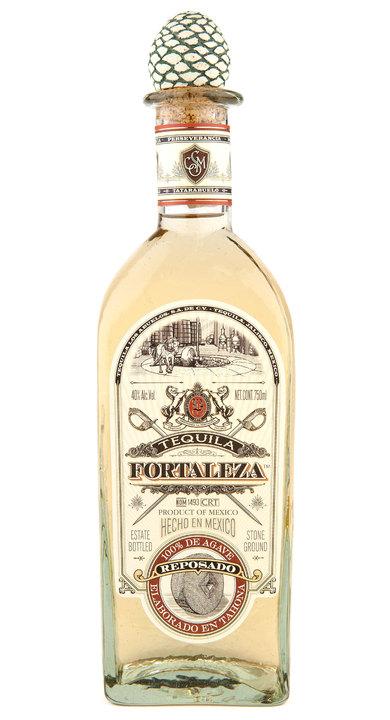 Bottle of Fortaleza Reposado