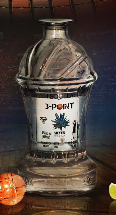 Bottle of 3-Point Silver