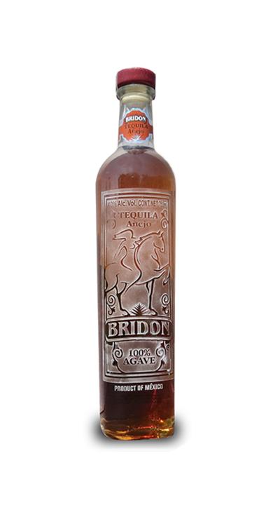 Bottle of Bridon Tequila Añejo