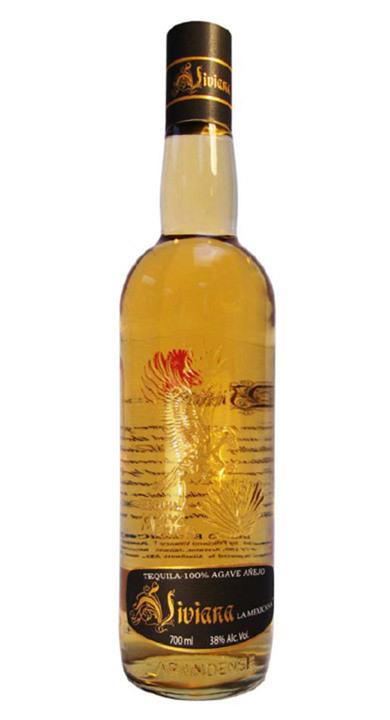 Bottle of Viviana la Mexicana Añejo