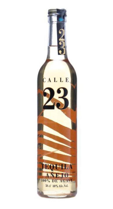 Bottle of Calle 23 Añejo