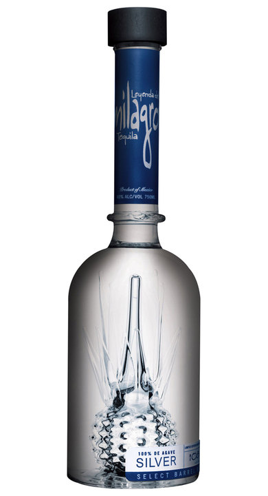 Bottle of Milagro Select Barrel Reserve Silver