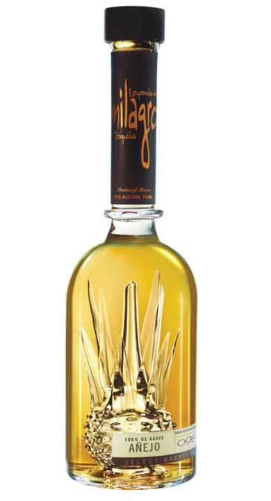Bottle of Milagro Select Barrel Reserve Añejo