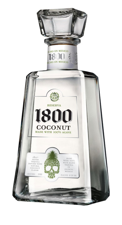 Bottle of 1800 Coconut Blanco