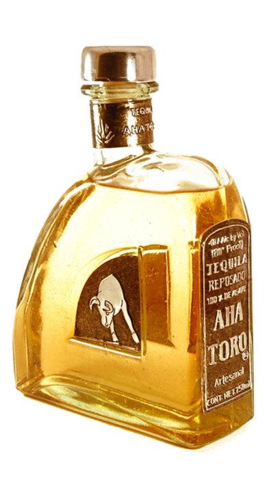 Bottle of Aha Toro Reposado