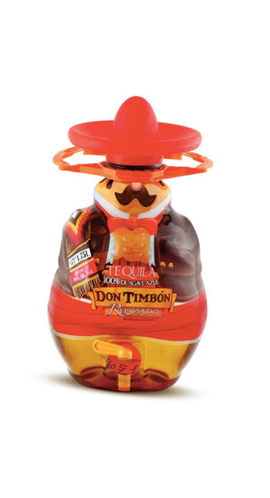 Bottle of Don Timbón Reposado
