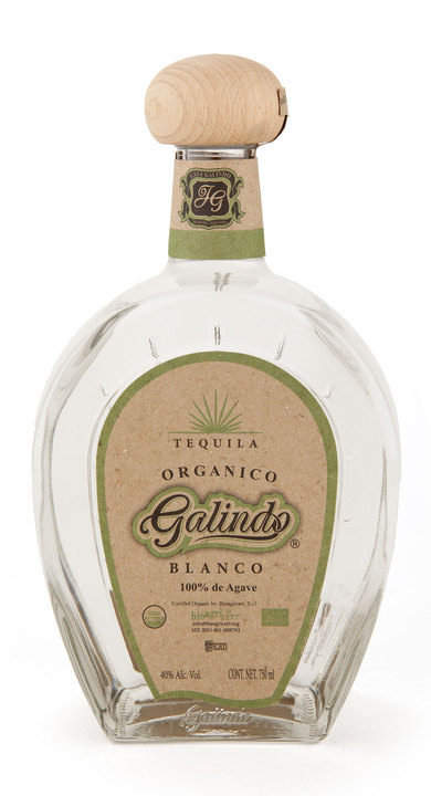 Bottle of Galindo Blanco Organico