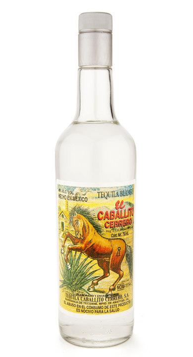Bottle of El Caballito Cerrero Blanco (46%)