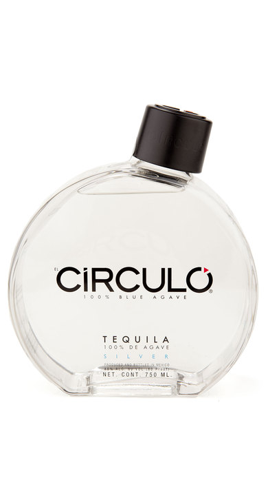 Bottle of Circulo Tequila Silver