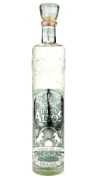 Bottle of De Los Altos Silver