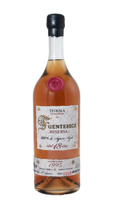 Bottle of Fuenteseca Reserva Extra Añejo 18-year