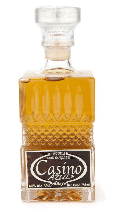 Bottle of Casino Azul Añejo