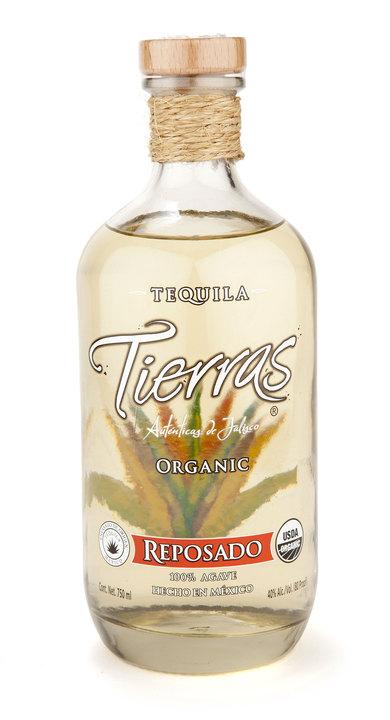 Bottle of Tierras Reposado