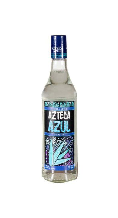 Bottle of Azteca Azul Silver Blanco