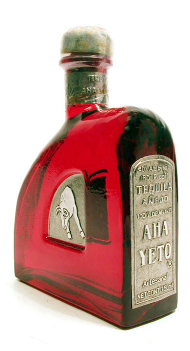 Bottle of Aha Yeto Añejo