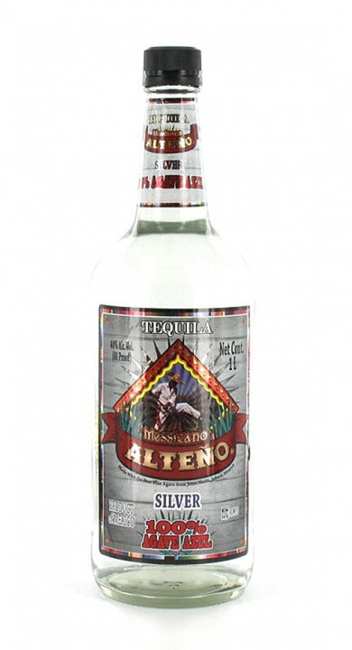Bottle of Messicano Alteño Silver