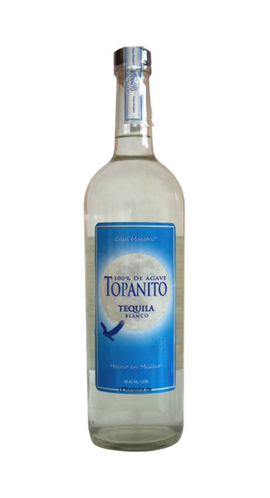Bottle of Topanito Blanco