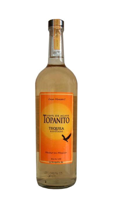 Bottle of Topanito Reposado