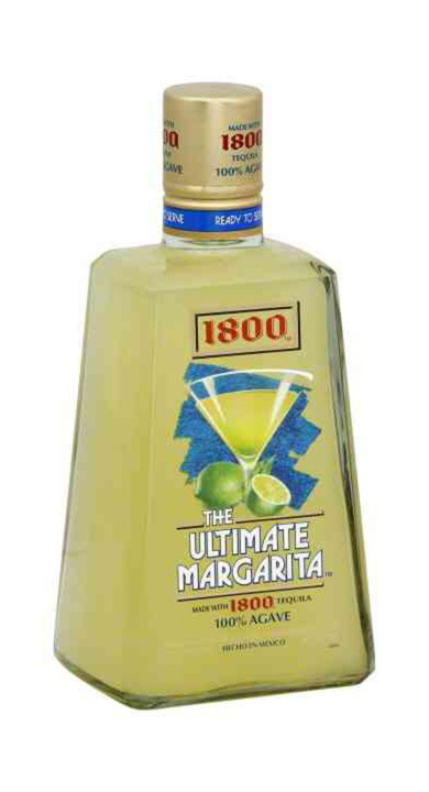 Bottle of 1800 The Ultimate Margarita