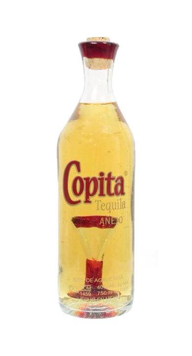 Bottle of Copita Tequila Añejo