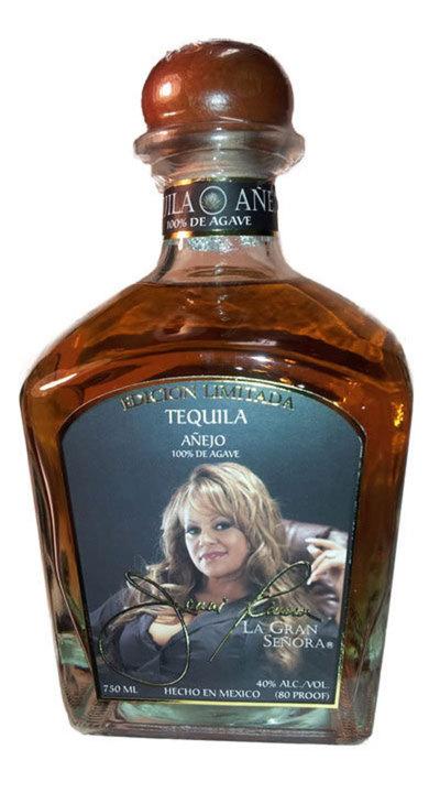 Bottle of Jenni Rivera La Gran Señora Añejo Tequila
