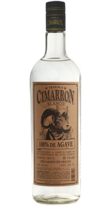 Bottle of Cimarron Blanco