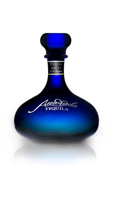 Bottle of Amorada Tequila Blanco