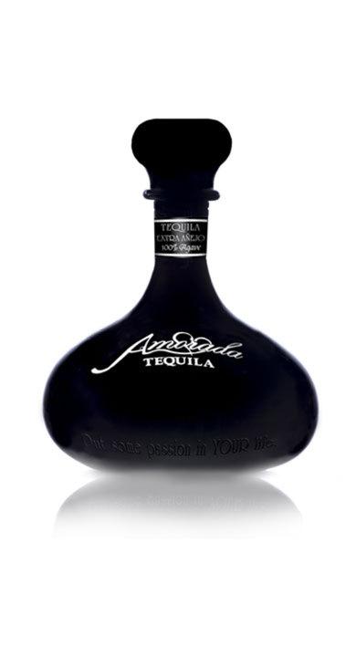 Bottle of Amorada Tequila Extra Añejo