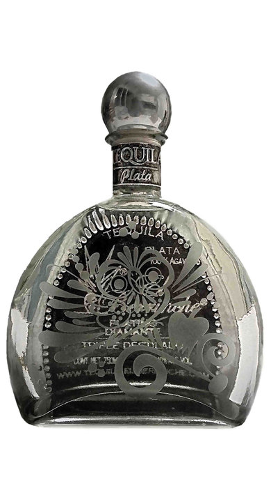 Bottle of El Berrinche Silver Platinum