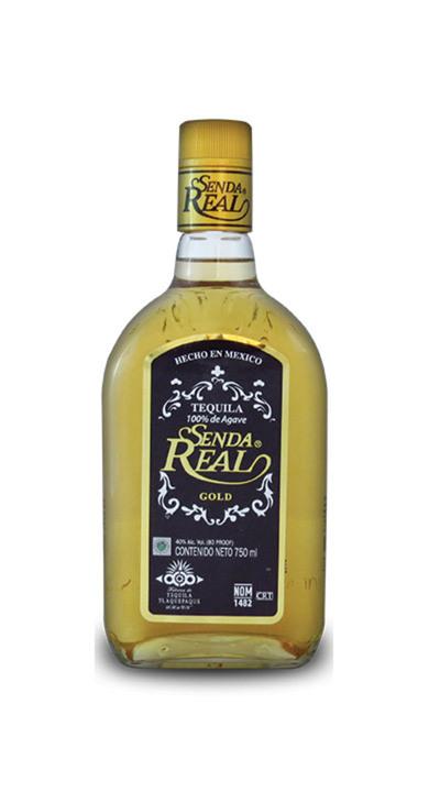 Bottle of Senda Real Gold