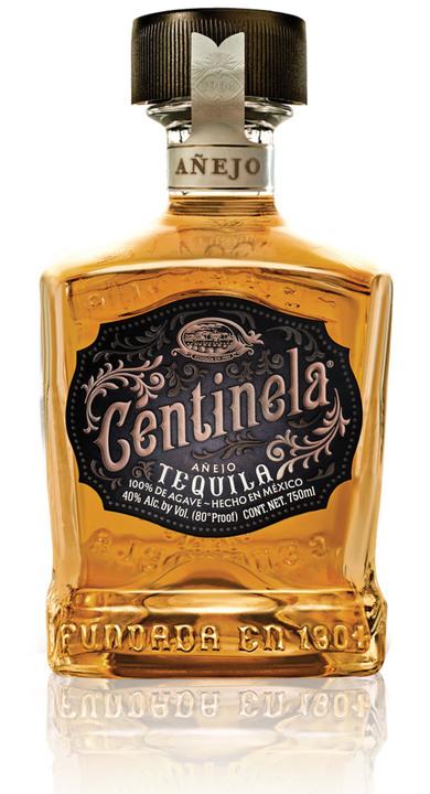 Bottle of Centinela Añejo (Square Bottle)