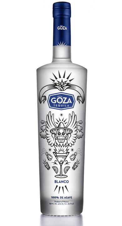 Bottle of Goza Tequila Blanco