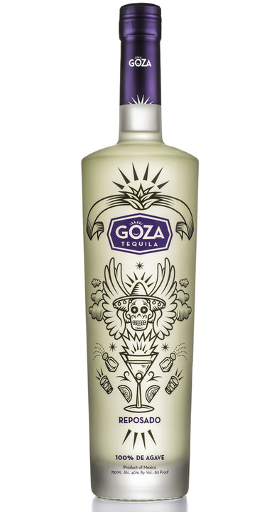 Bottle of Goza Tequila Reposado
