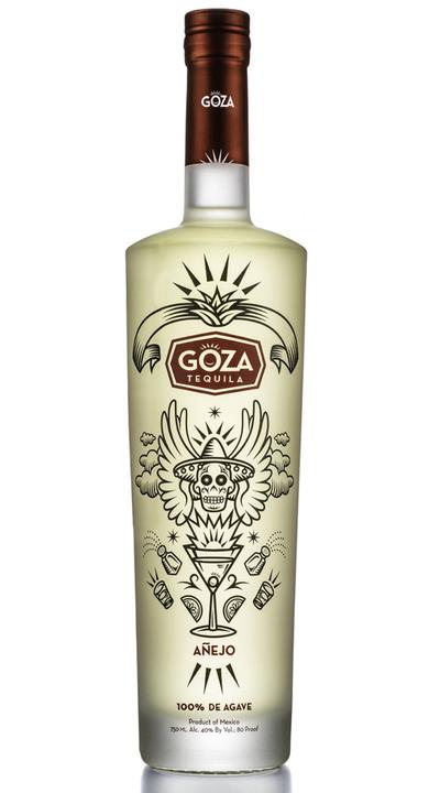 Bottle of Goza Tequila Añejo