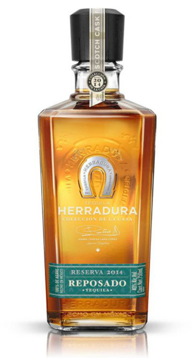 Bottle of Herradura Colección de la Casa Reserva 2014 Reposado – Scotch Cask Finish
