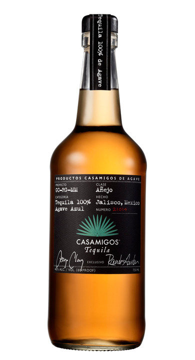 Bottle of Casamigos Tequila Añejo