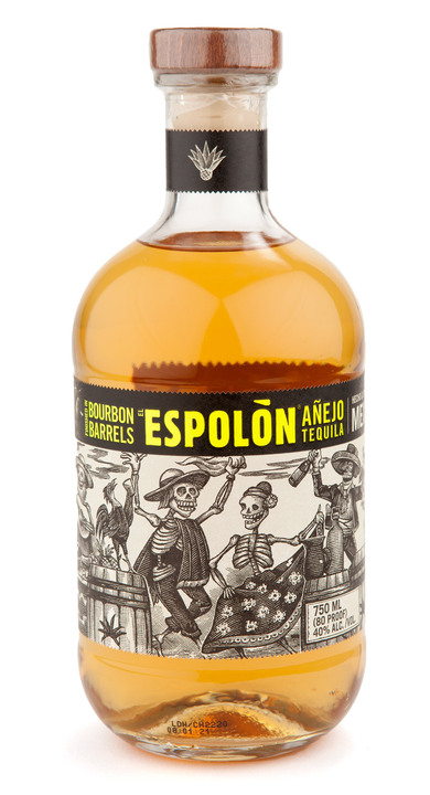 Bottle of Espolon Añejo