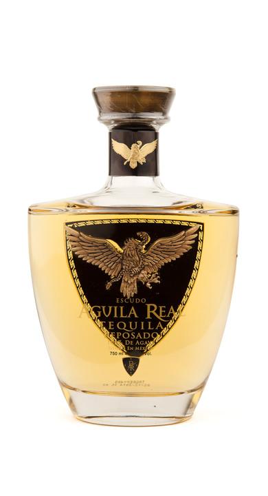 Bottle of Aguila Real Reposado