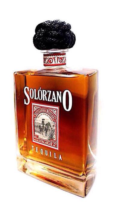 Bottle of Solorzano Extra Añejo (Lost Barrel Edition)