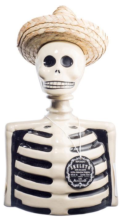 Bottle of Skeleto Reposado (Los Azulejos)
