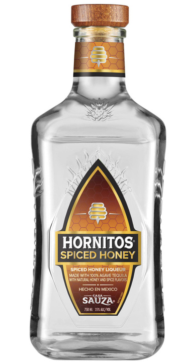 Bottle of Hornitos Spiced Honey