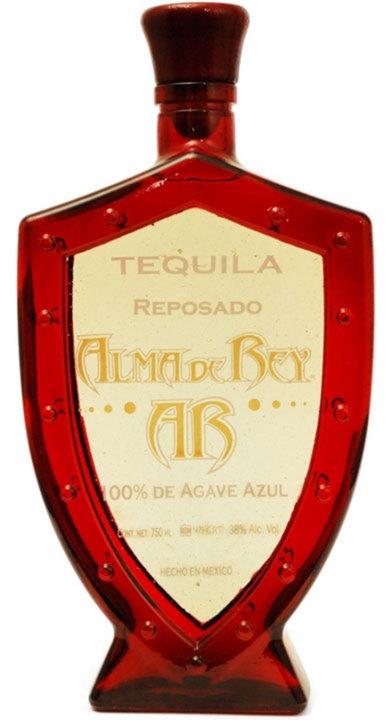 Bottle of Alma de Rey Tequila Reposado