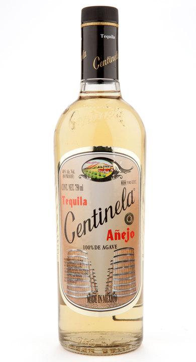 Bottle of Centinela Añejo