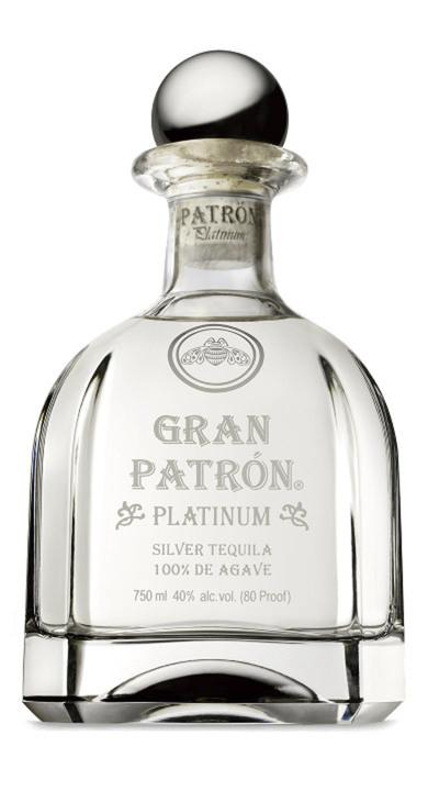 Bottle of Gran Patrón Platinum