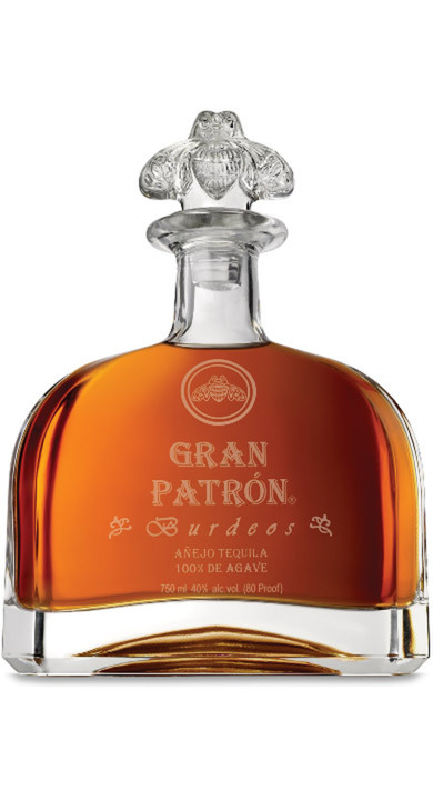 Bottle of Gran Patrón Burdeos