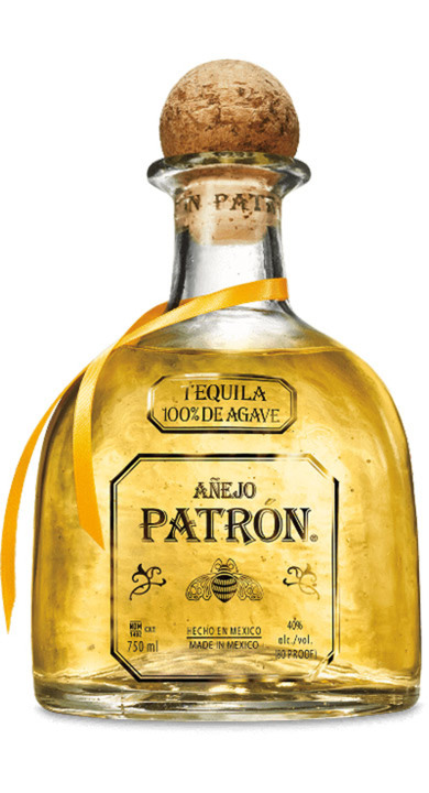 Bottle of Patrón Añejo