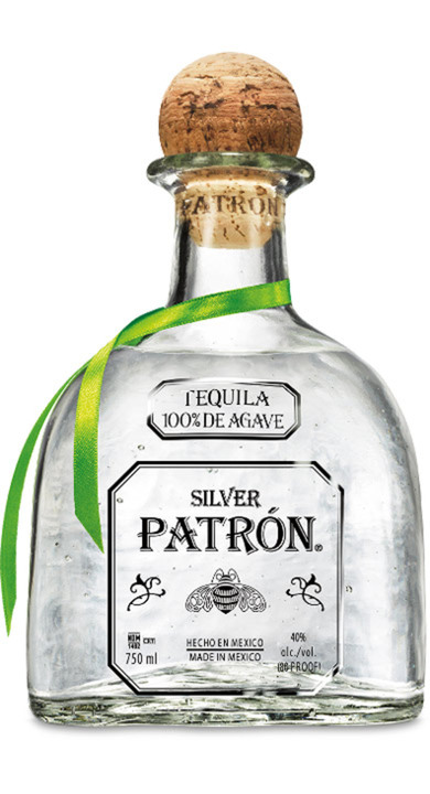 Bottle of Patrón Silver