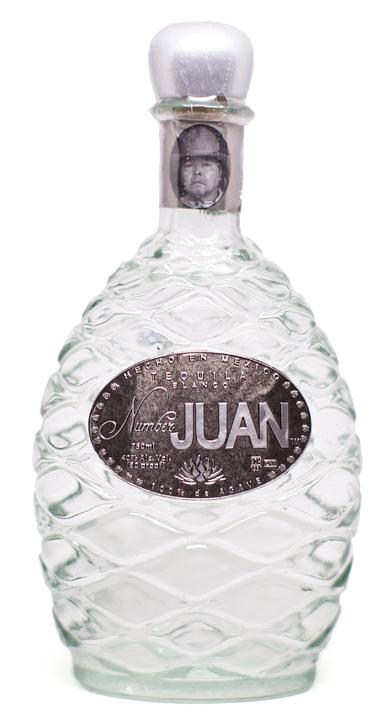 Bottle of Number Juan Blanco